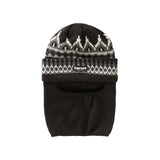 Supreme Facemask Beanie- Black