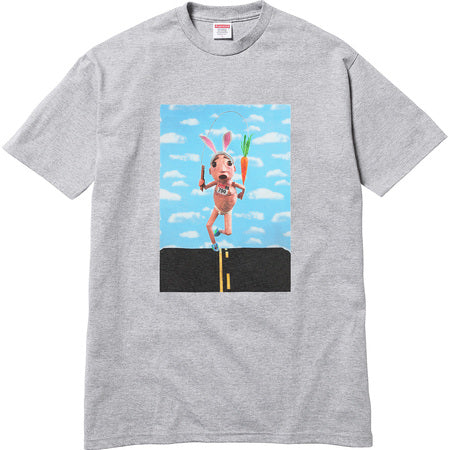 SUPREME X  Mike Hill Runner Tee - grey