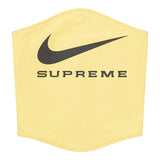 Supreme®/Nike® Neck Warmer- Yellow