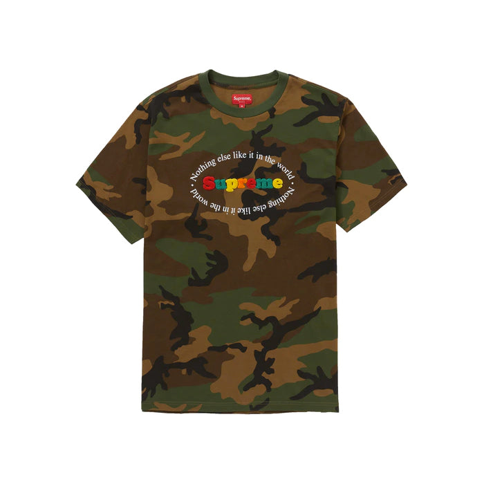 Supreme Nothing Else S/S Top- Woodland Camo