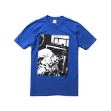 Supreme Blood and Sperm Tee- Royal Blue