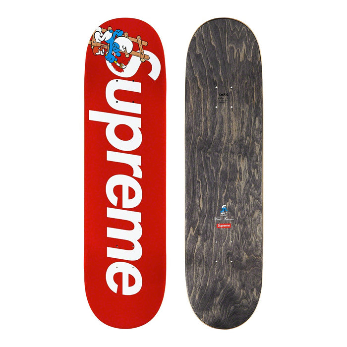 Supreme®/Smurfs™ Skateboard Deck- Red