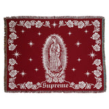 Supreme Virgin Mary Blanket- Red