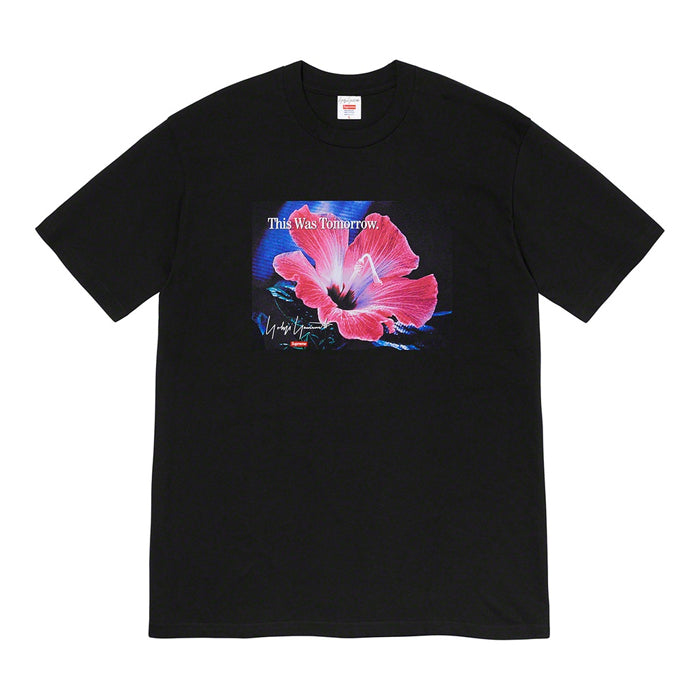 Supreme®/Yohji Yamamoto® This Was Tomorrow Tee- Black