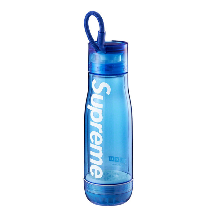 Supreme®/Zoku® Glass Core 16 oz. Bottle- Blue