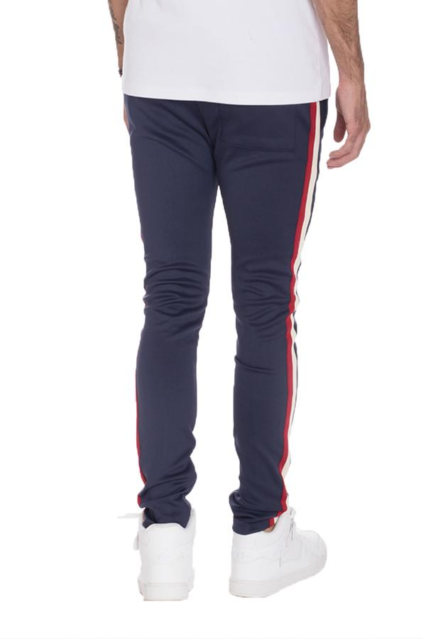 Taped Track Pants- Navy