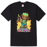 Supreme Molotov Kid Tee- Black