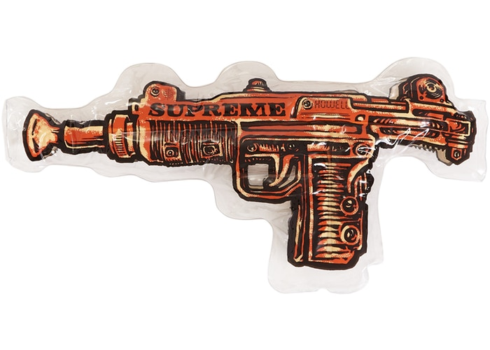 Supreme Toy Uzi Inflatable Pillow- Orange