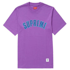 Supreme Printed Arc S/S Top- Purple