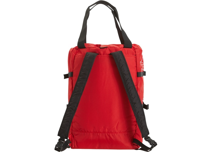 Supreme Tote Backpack- Red