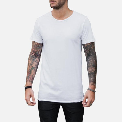 Fishtail Tee x White