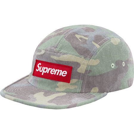 Supreme Washed Out Camp Cap- Camo