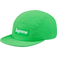Supreme Washed canvas camp cap - Green