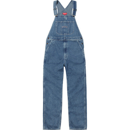 Supreme Washed denim overalls