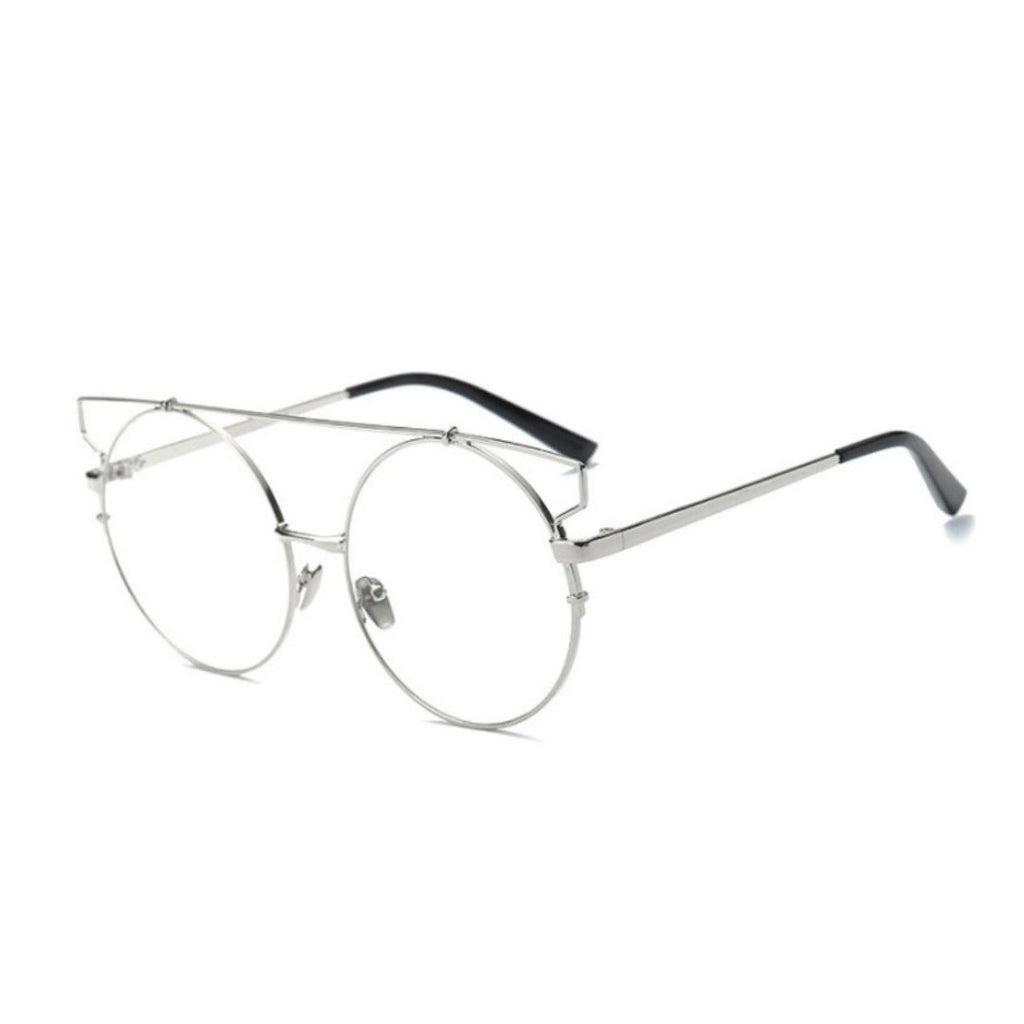 Wire Cat Eye Glasses
