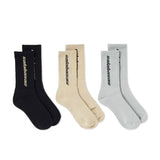 YZY Season 6 Calabasas Socks- 3 Pack