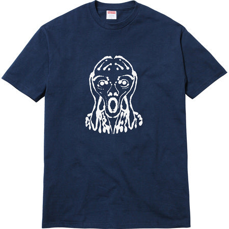 Supreme Scream Tee- Navy