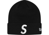 Supreme New Era S Logo Beanie - Black