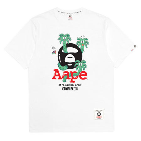 Aape x Steve Harrington Tee- White