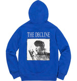 Supreme Decline Hooded Sweatshirt- Royal