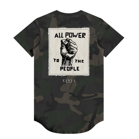ALL POWER DROP TEE