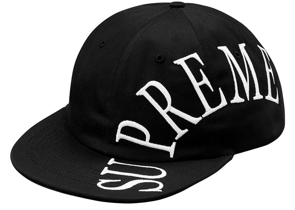 Supreme Side Arc 6-Panel- Black