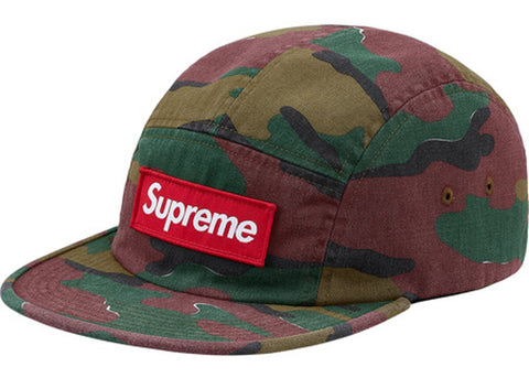 Supreme Military Camp Cap (SS18)- Jigsaw Camo
