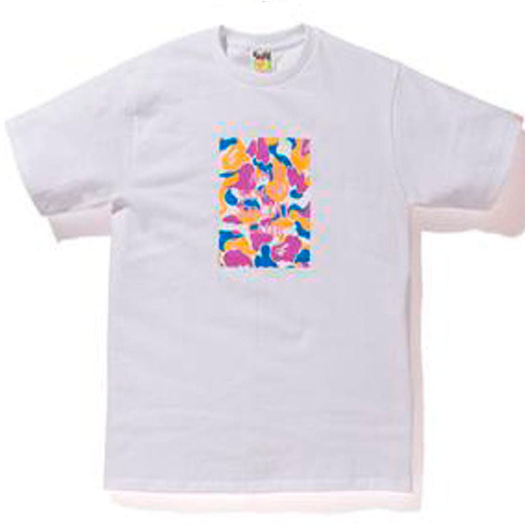 Bape x Anti Social Social Club LA Exclusive City Camo Box Tee- White/Multi