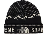 Supreme The North Face Fold Beanie- Black