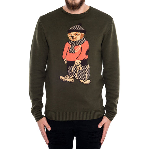 Lou Bear Knit Sweater