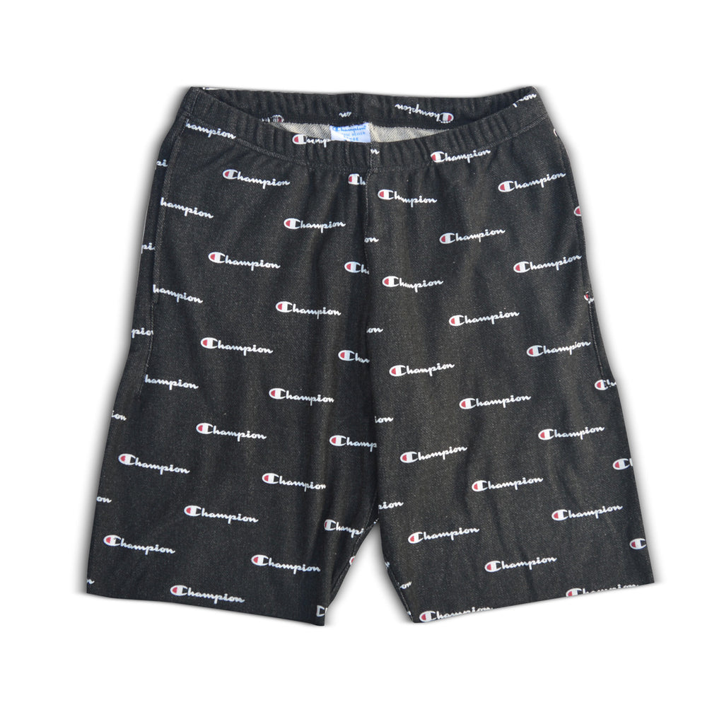 Champion Men's Reverse Weave French Terry Shorts Black