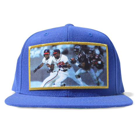 Double Team Snapback (Blue)