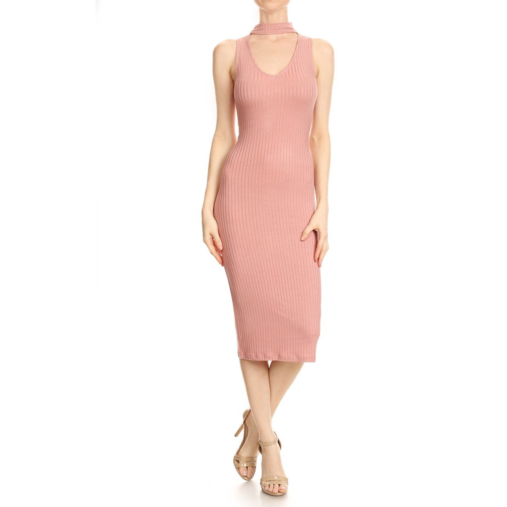 B&C Body Con Midi Dress