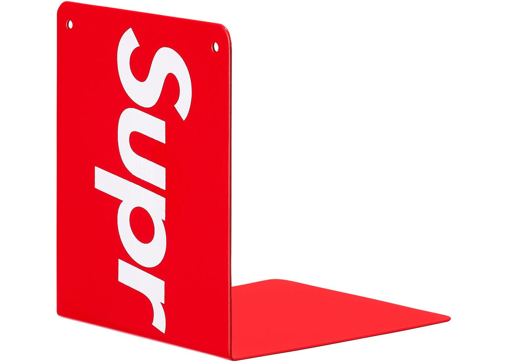 Supreme Bookends(Set of 2)- Red