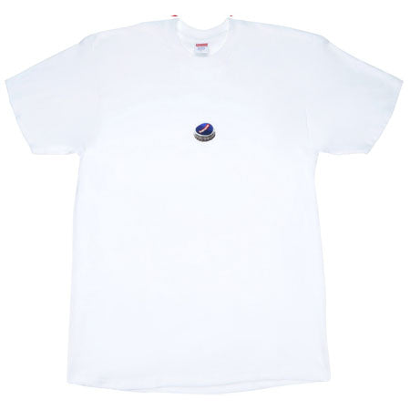 Supreme Bottle Cap Tee- White