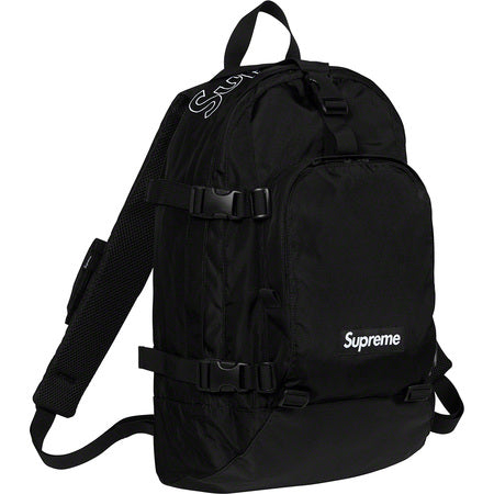 Supreme Back Pack (FW19)- Black