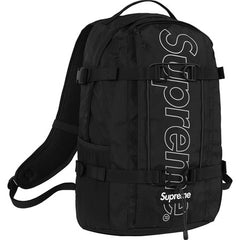 Supreme FW18 Backpack- Black