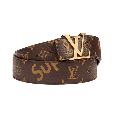 LOUIS VUITTON x SUPREME Brown Belt