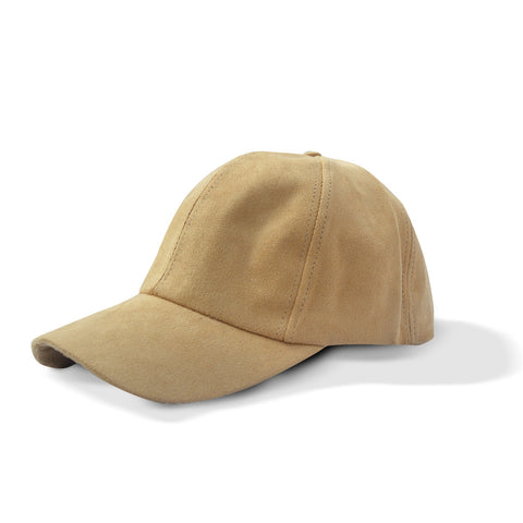 Brown Suede Hat