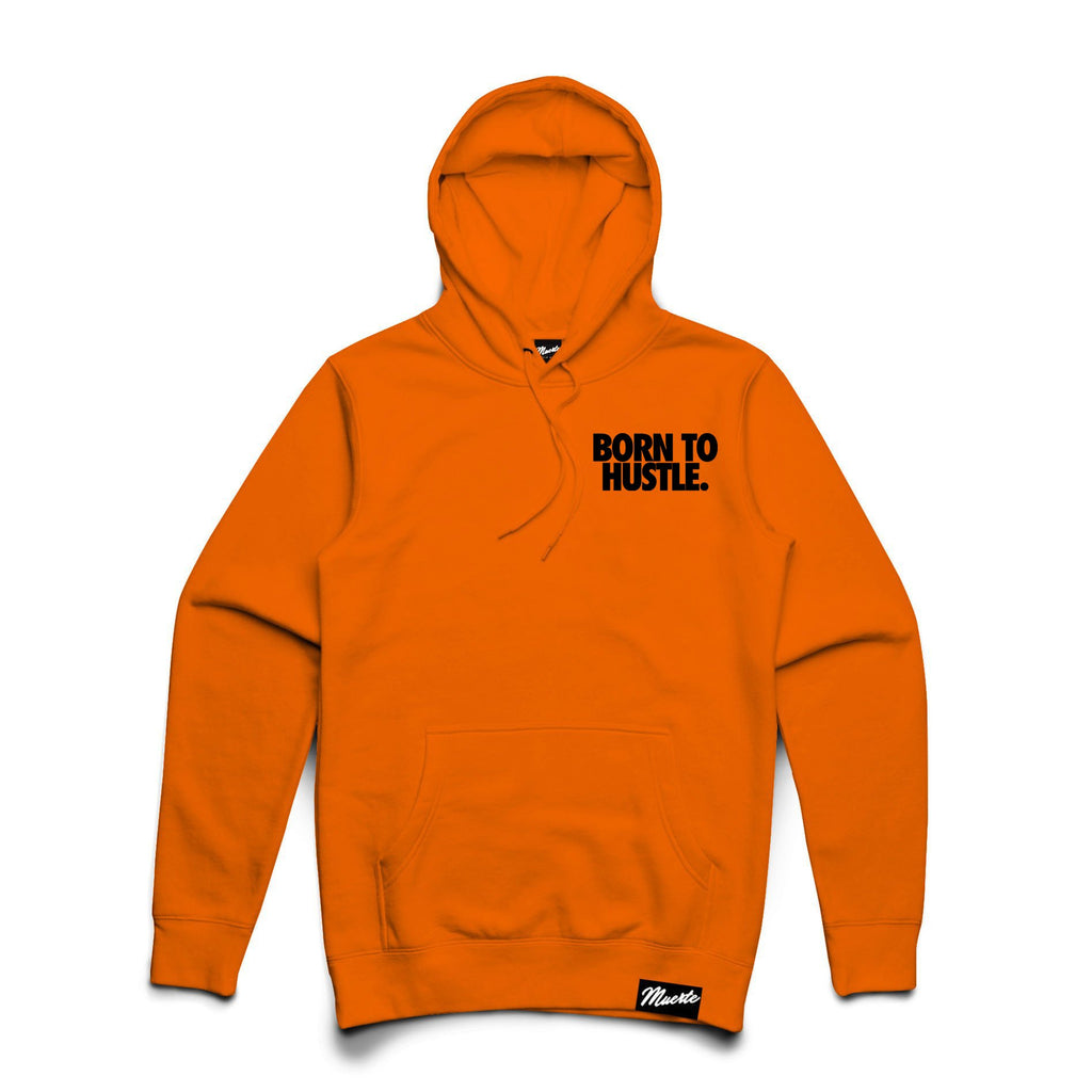 Pocket Logo Born To Hustle - Safety Orange
