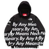 Supreme North Face Mountain Pull Over Jacket By Any Means Necessary- Black