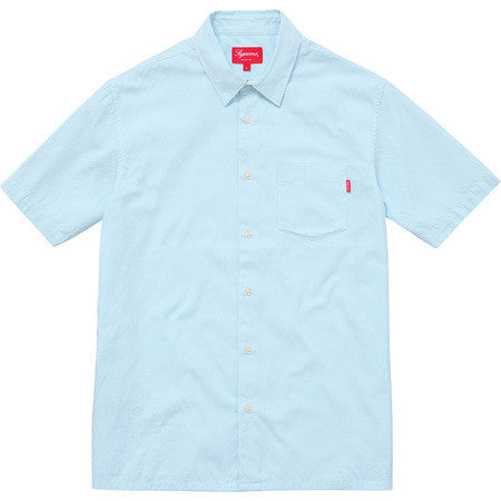 Supreme® Lightweight S/S Oxford Shirt - Light Blue
