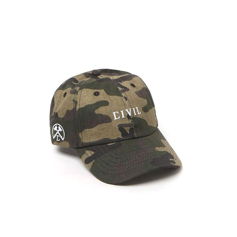 CIVIL CORE STRAPBACK -Camo
