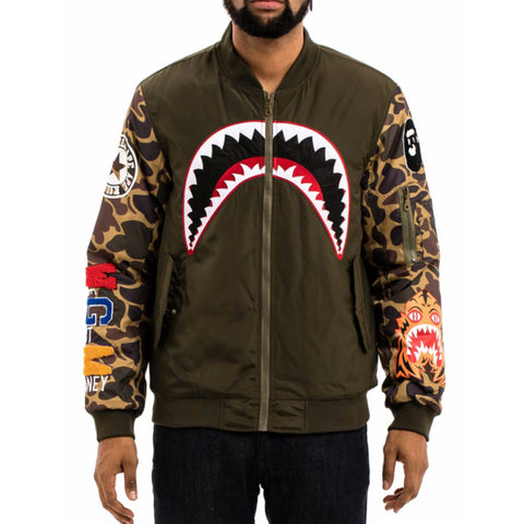 AKA Camo Flight Jacket