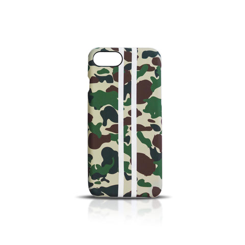Camo Stripes iPhone Case
