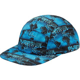 Supreme World Famous Taped Seam Camp Cap -Cyan