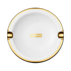 SUPREME gold trim ceramic ash tray