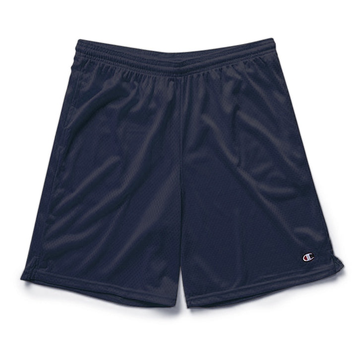 3811fa74378d2b Navy Champion Mesh Shorts with Pockets – Streetwear Official