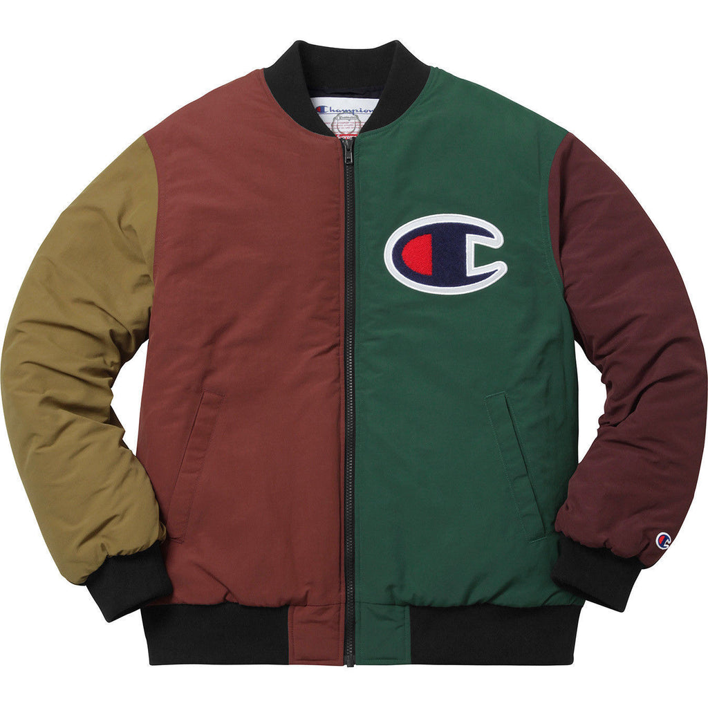 Supreme Champion Color Blocked Jacket – Street Wear Official