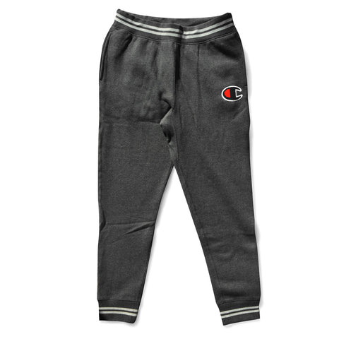 REVERSE WEAVE COLORBLOCK JOGGER (GRANITE HEATHER)